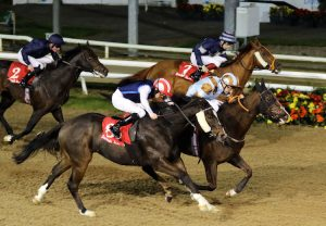 "A first listed win for the yard as Caspian Prince and Declan McDonogh winthe ""Mercury Stakes"" at Dundalk."